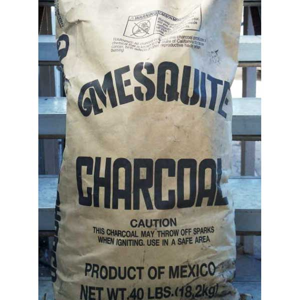 Pure and Natural Mesquite Charcoal